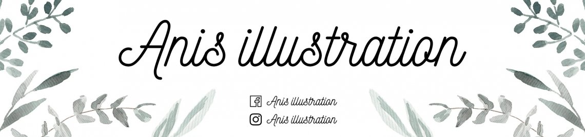 Anis Illustration Profile Banner