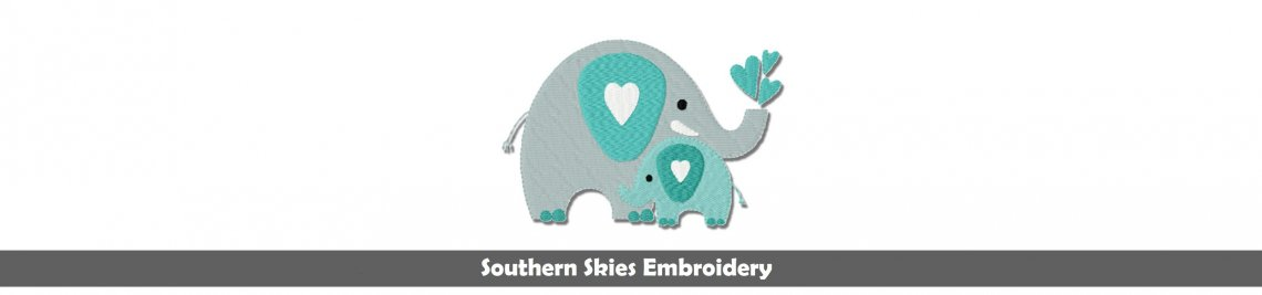 Southern Skies Embroidery Designs Profile Banner