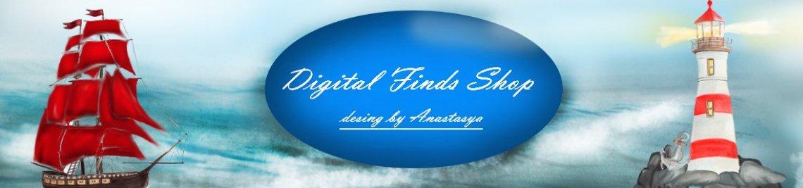 DigitalFindsShop Profile Banner