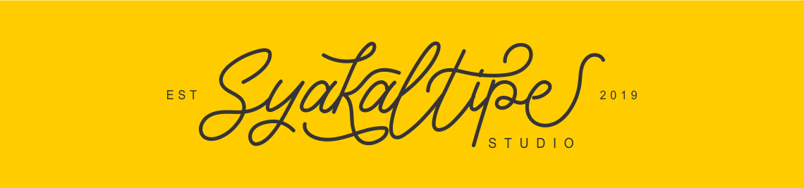 Syakaltype Studio Profile Banner