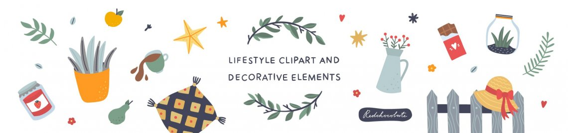 redchocolate illustration Profile Banner
