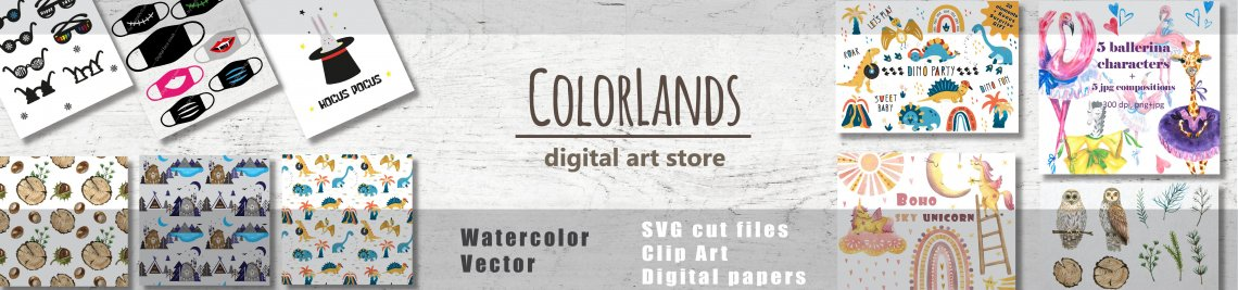 ColorLands Profile Banner