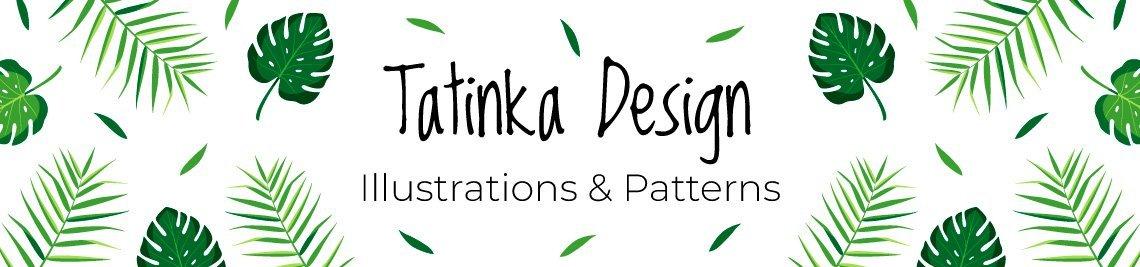 Tatinka Design SVG & Digital Paper Profile Banner