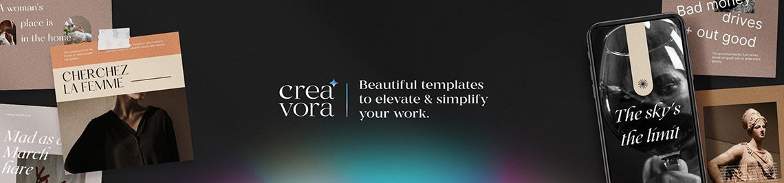 Creavora Profile Banner