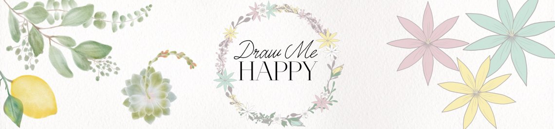 Draw Me Happy Profile Banner