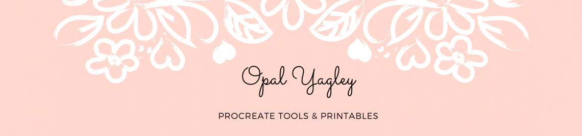 Digital Art by Opal Yagley Profile Banner