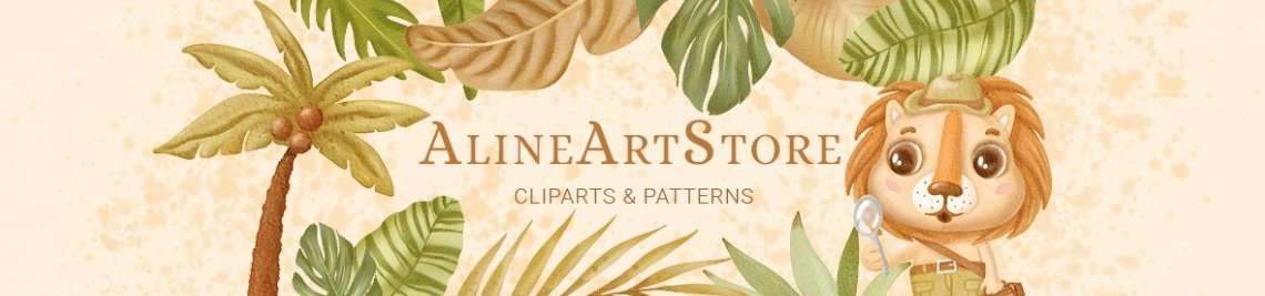 AlineArtStore Profile Banner