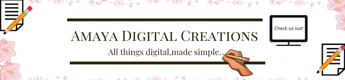 Amaya's Digital Creations Profile Banner