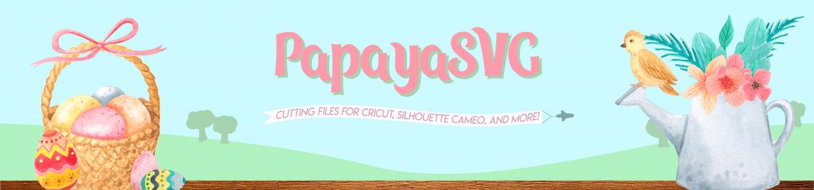 PapayaSVG Profile Banner