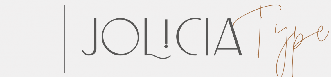 Jolicia Type Foundry Profile Banner