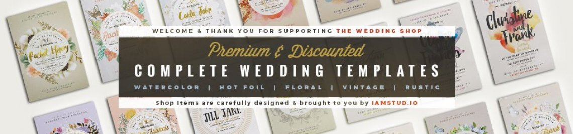 The Wedding Shop Profile Banner