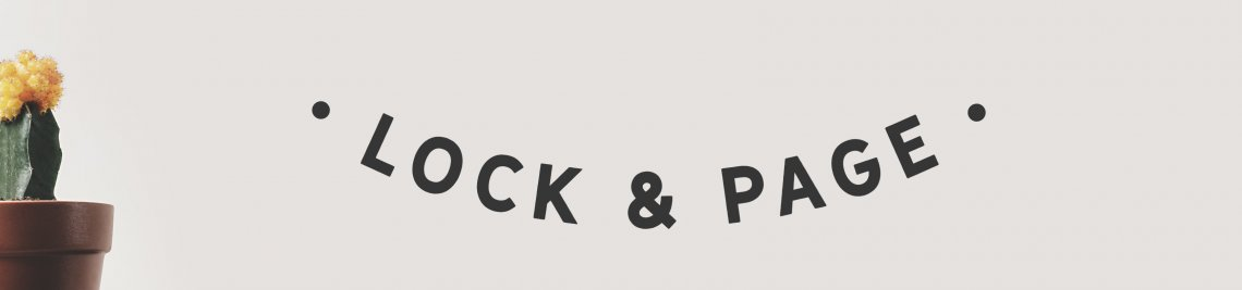 Lock and Page Profile Banner