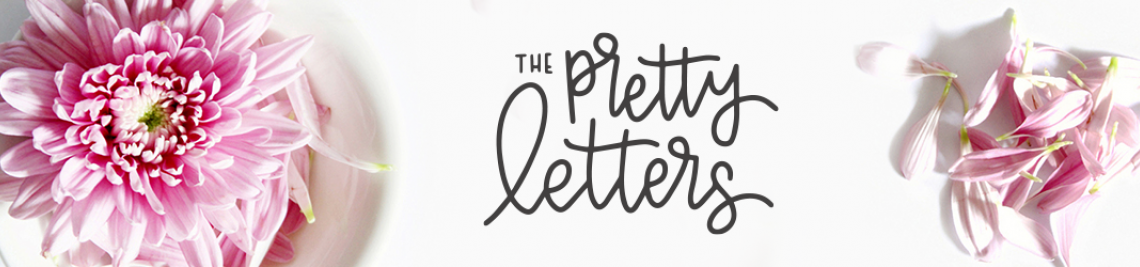The Pretty Letters Profile Banner