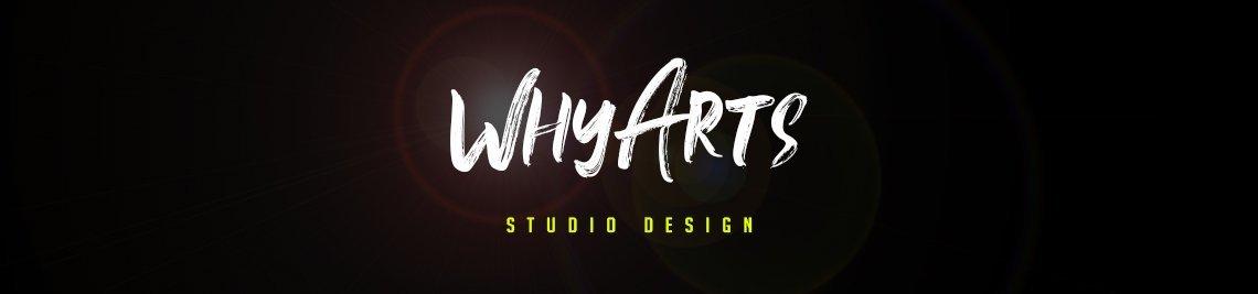 WhyArts Studio Design Profile Banner