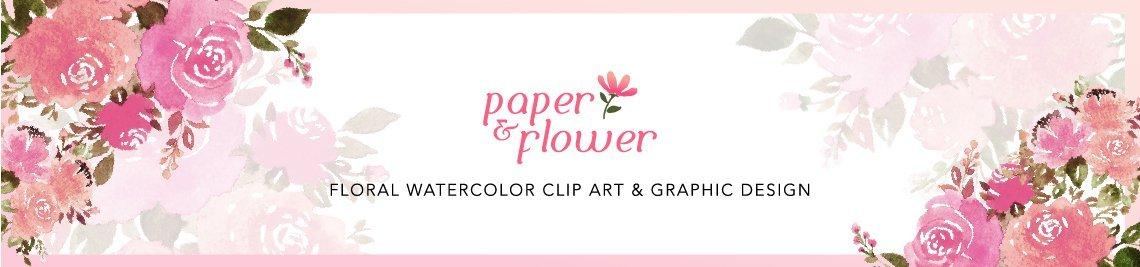Paper&Flower Profile Banner