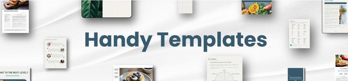 Handy Template Profile Banner