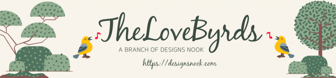 TheLoveByrds - a branch of Designs Nook Profile Banner