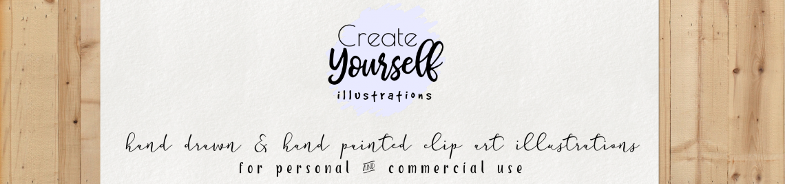 Create Yourself Illustrations Profile Banner