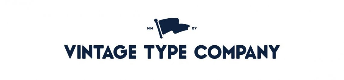 Vintage Type Co. Profile Banner