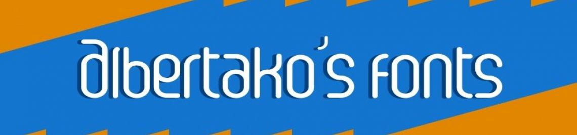 Albertako's fonts Profile Banner