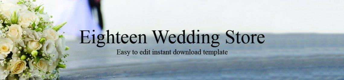 EighteenWeddingStore Profile Banner