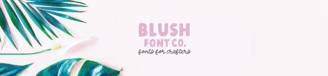 Blush Font Co Profile Banner
