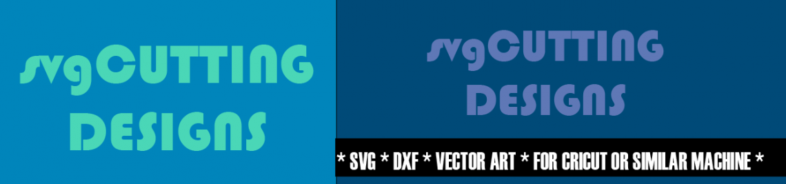 SVG Cutting Designs Profile Banner