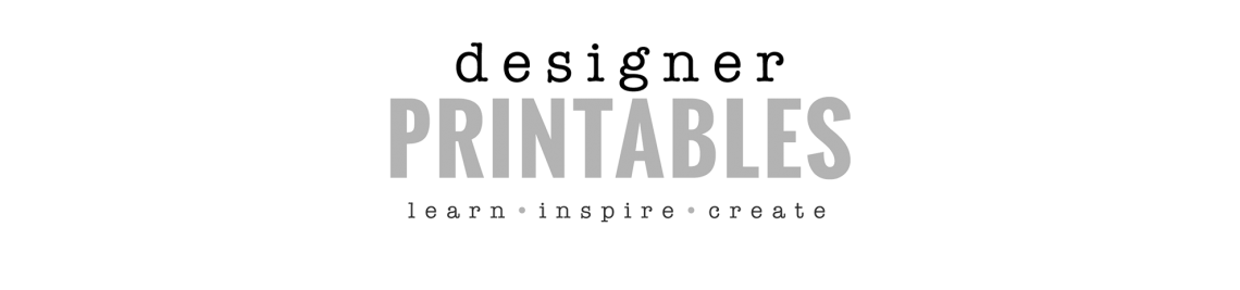 Designer Printables Profile Banner