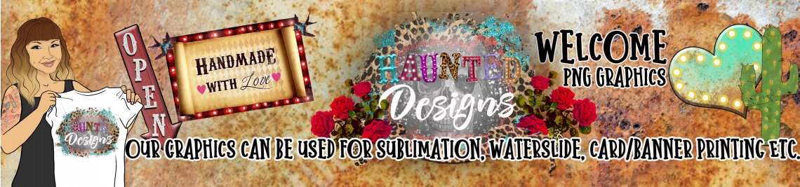 Haunted Designs Profile Banner