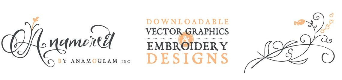 Anamored Embroidery & SVG Profile Banner
