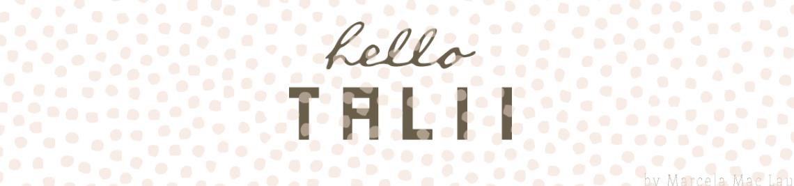 Hello Talii Profile Banner