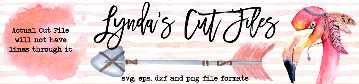 Lynda's Cut Files Profile Banner
