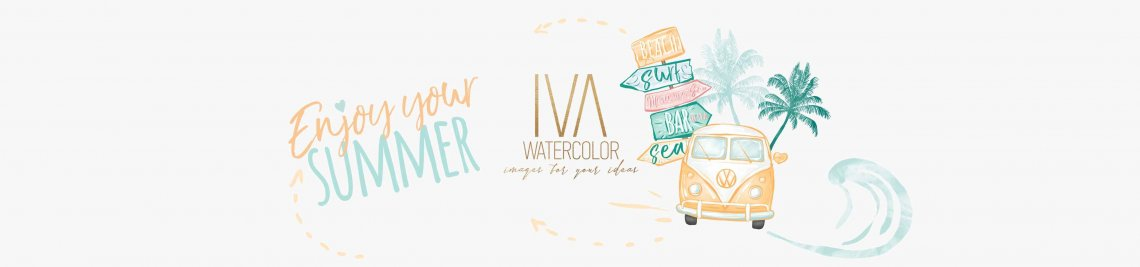 IvaWatercolor Profile Banner