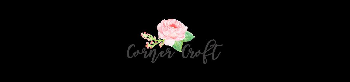 Corner Croft Watercolor Clip Art  Profile Banner