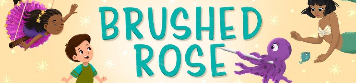 Brushed Rose Digital Profile Banner