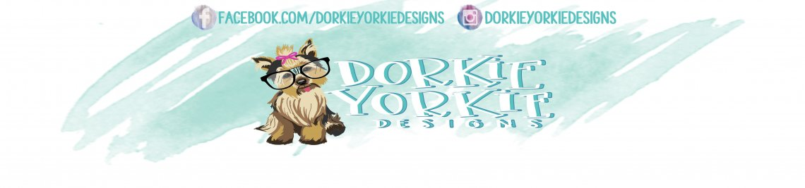 Dorkie Yorkie Designs Profile Banner