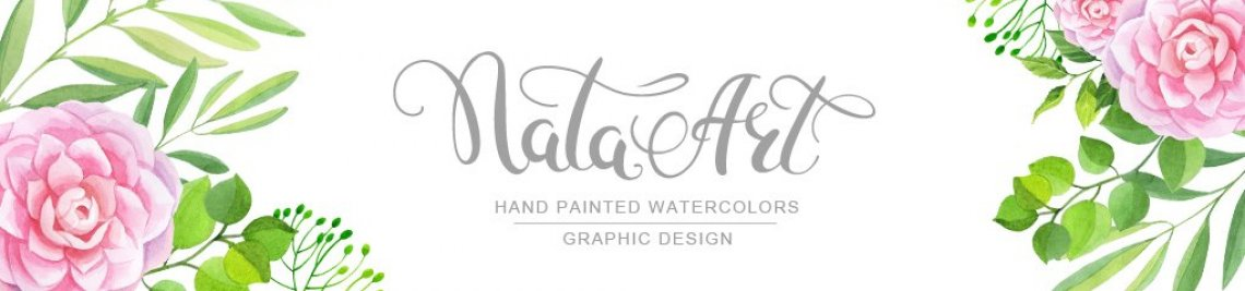 Nata Art Graphic Profile Banner
