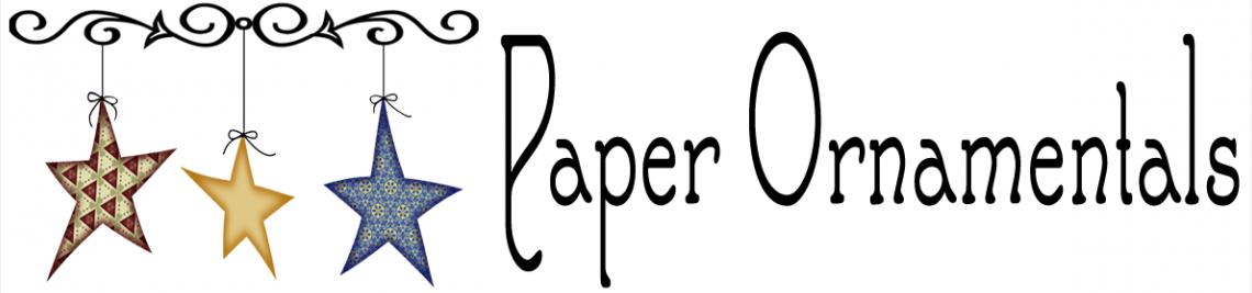 Paper Ornamentals Profile Banner