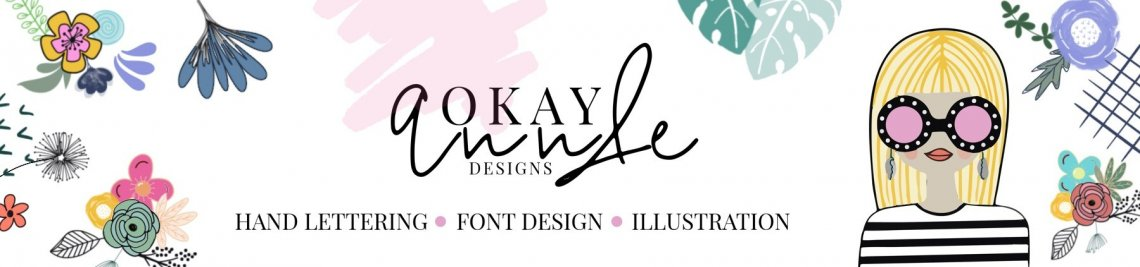 OkayAnnie Designs Profile Banner