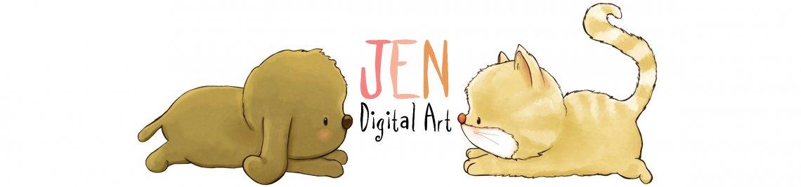 JenDigitalArt Profile Banner