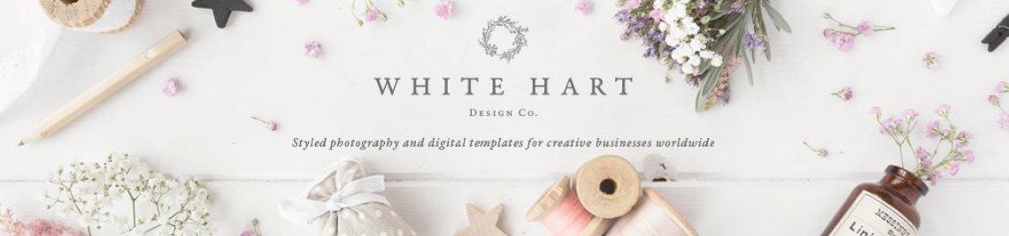 White Hart Design Co Profile Banner