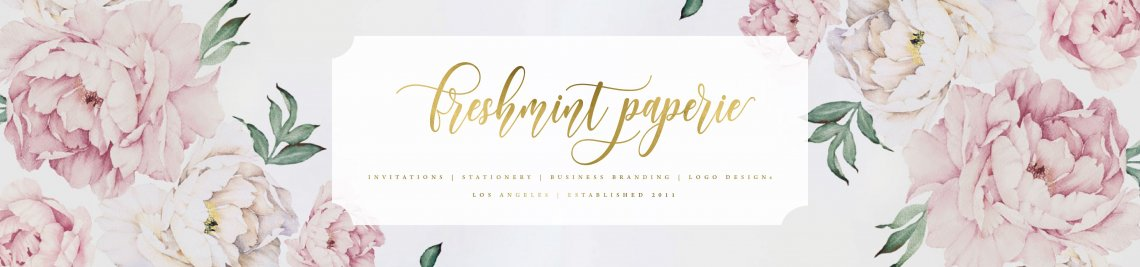 Freshmint Paperie Profile Banner