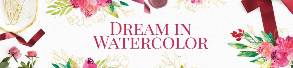 Dream in Watercolor Profile Banner