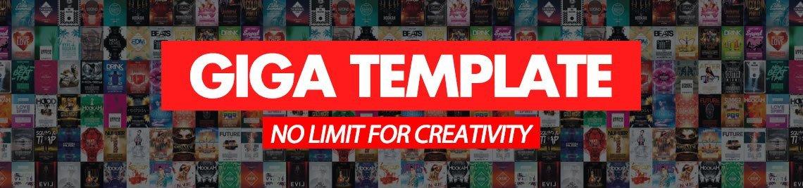 Giga Template Profile Banner