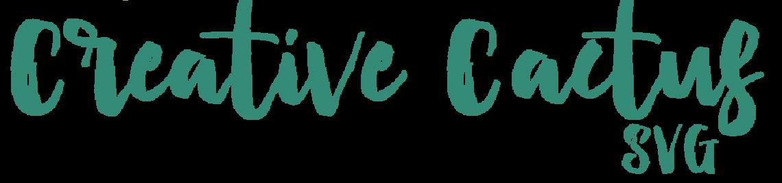 Creative Cactus SVG Profile Banner