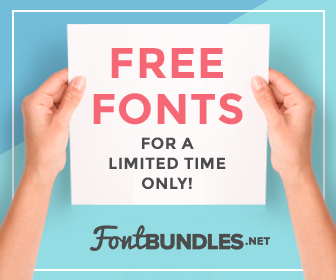 Get FREE COMMERCIAL USE FONTS here!