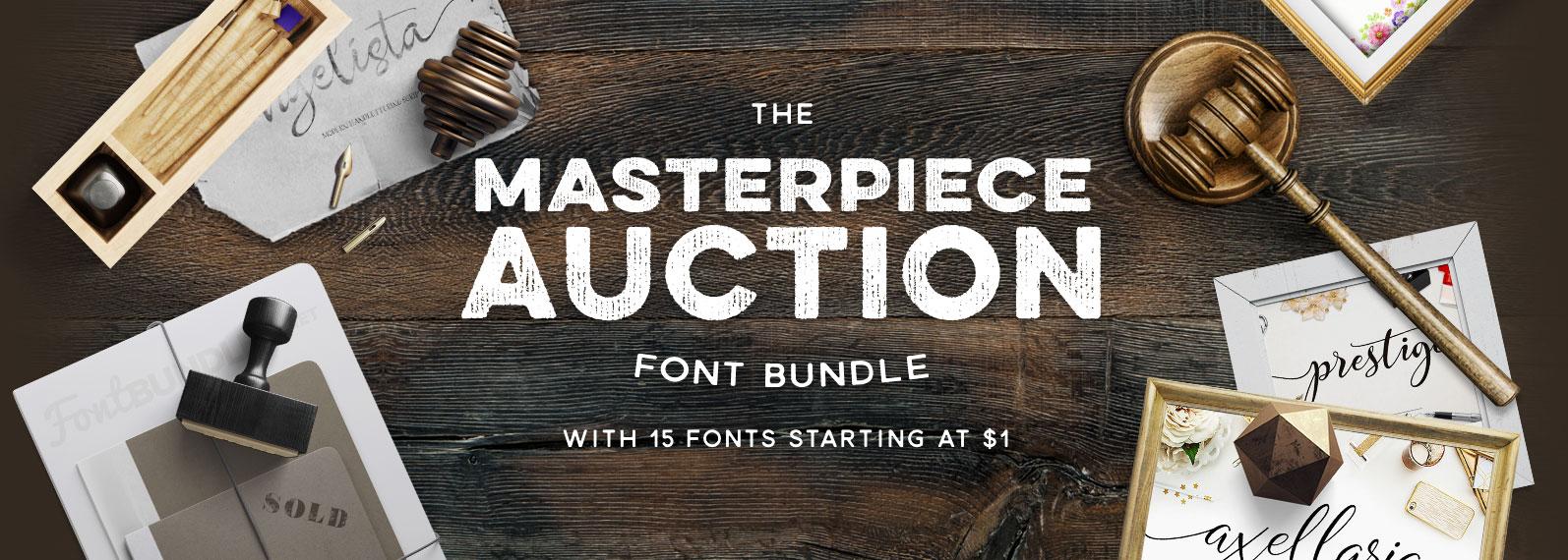 Masterpiece Auction Bundle Cover