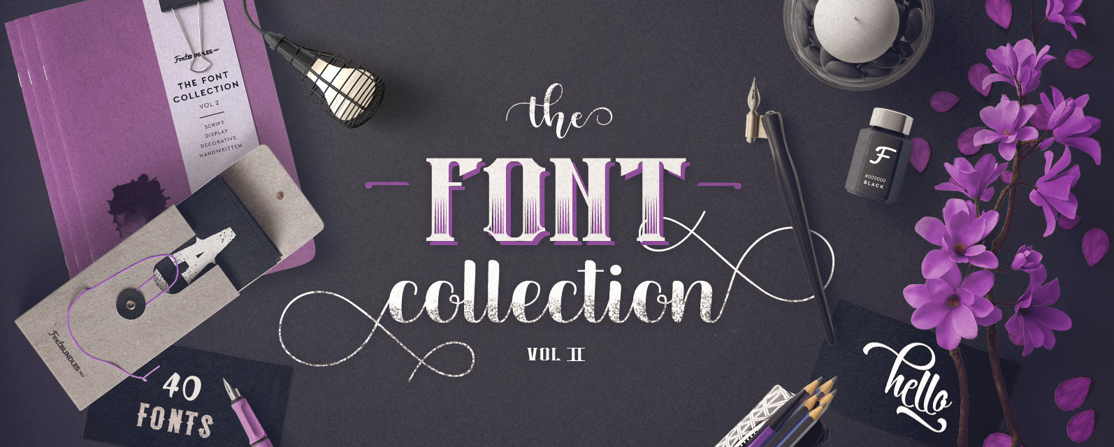 Font Collection Volume II Cover