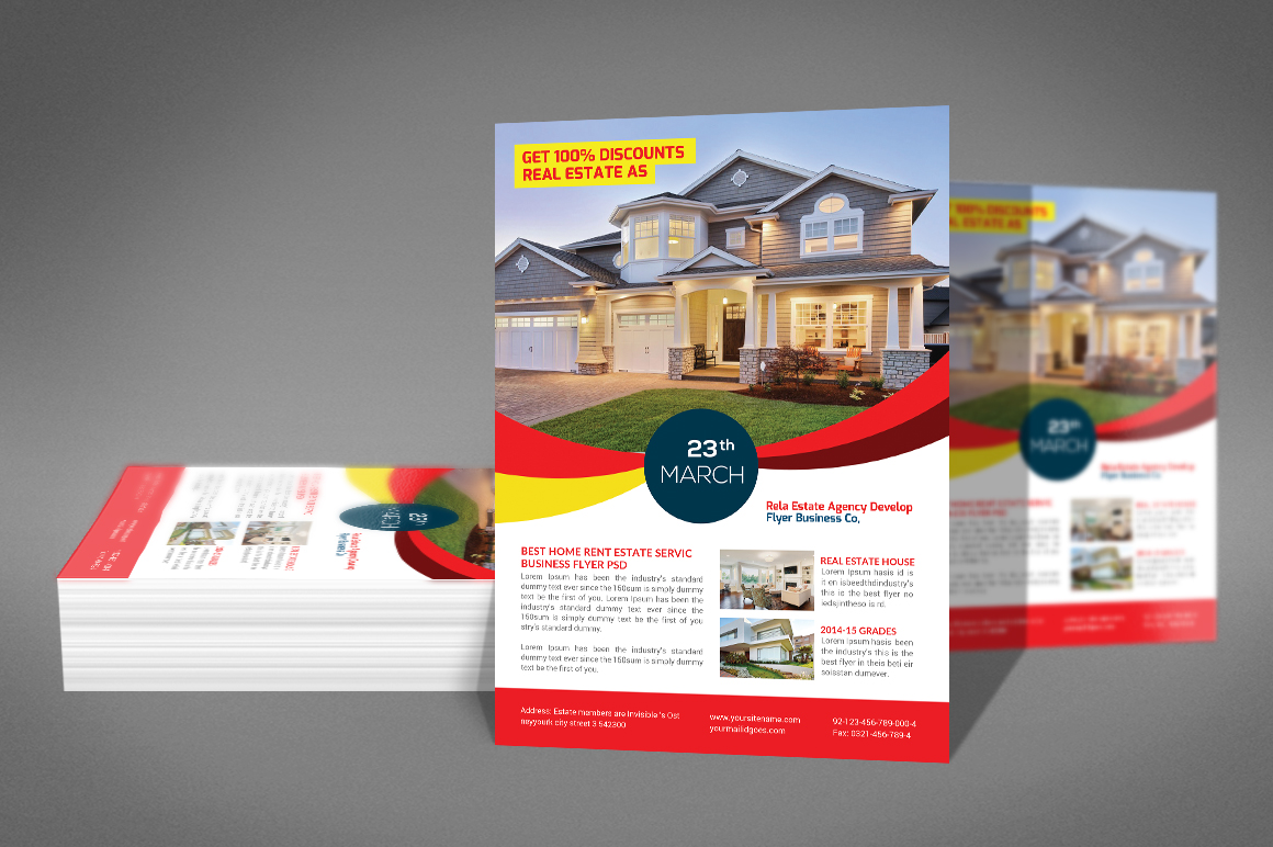 Real Estate Flyer Psd example image 2
