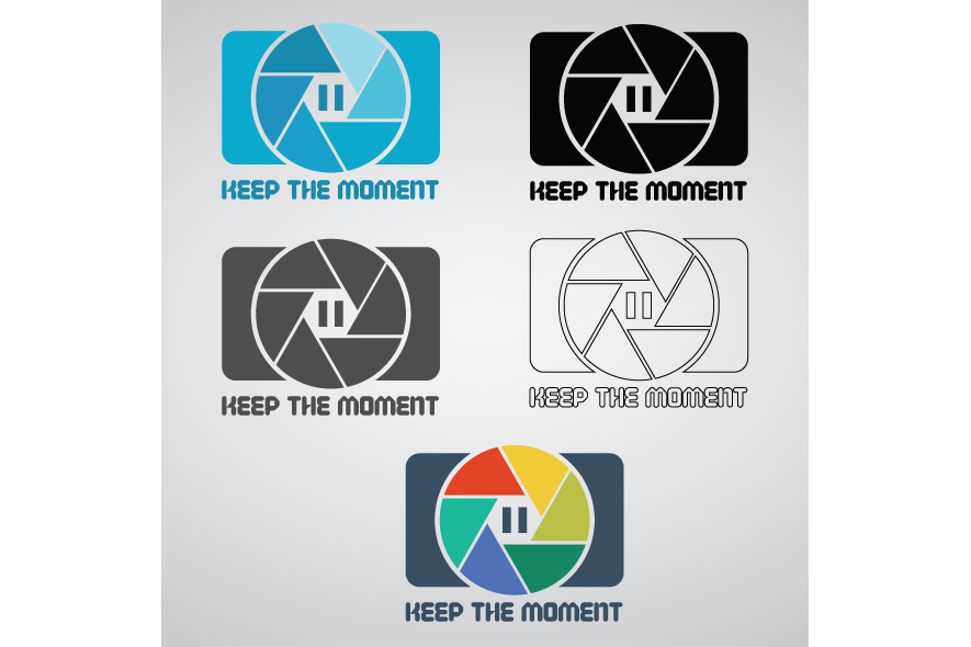 Keep The Moment Logo Template example image 2
